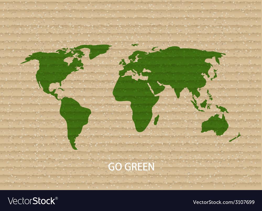 Modern go green background