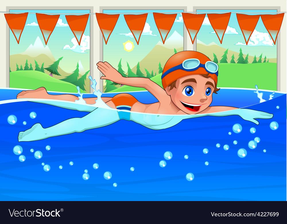 Детские рисунки плавание в бассейне