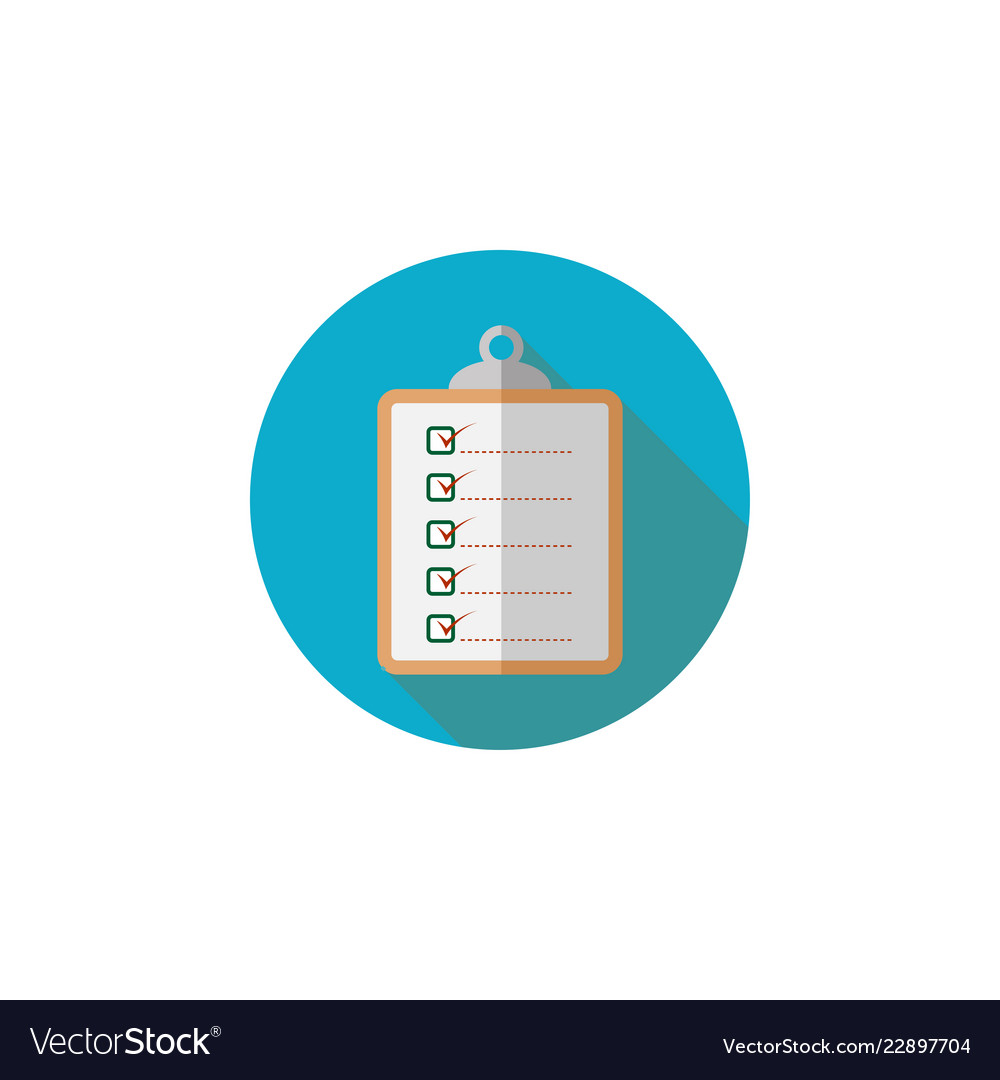 clipboard graphic design template royalty free vector image