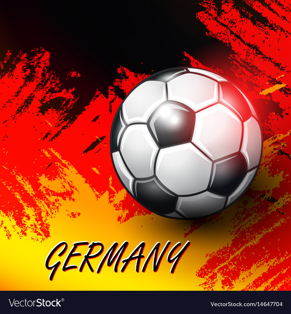 Soccer confederation cup 2017 background vector image