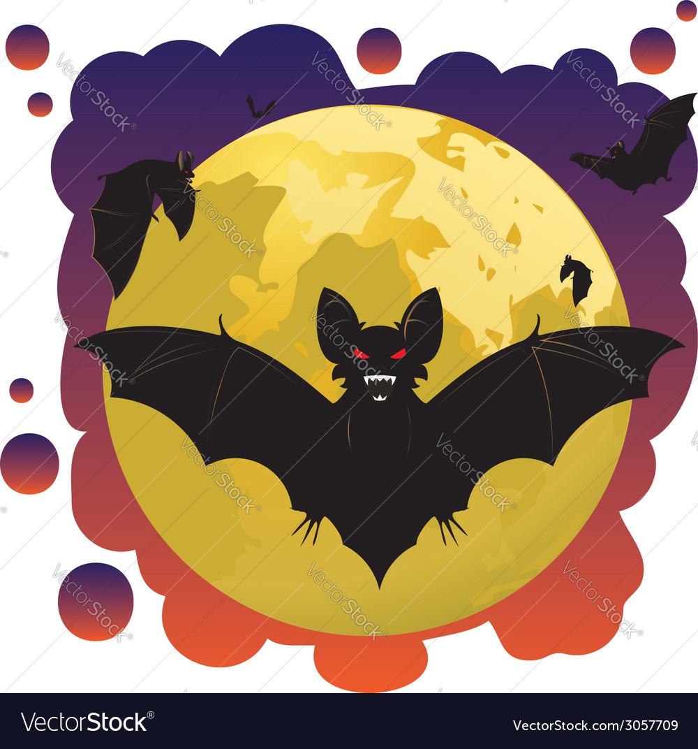 Bats and Moon2