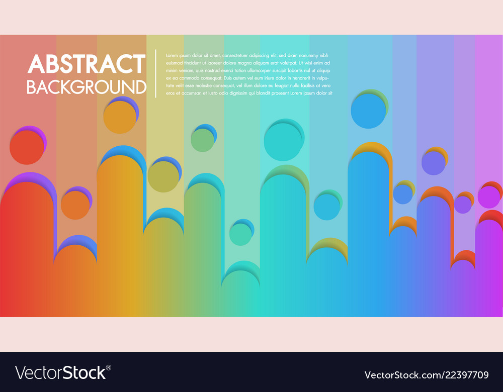 Cool Background Colorful Abstract Poster