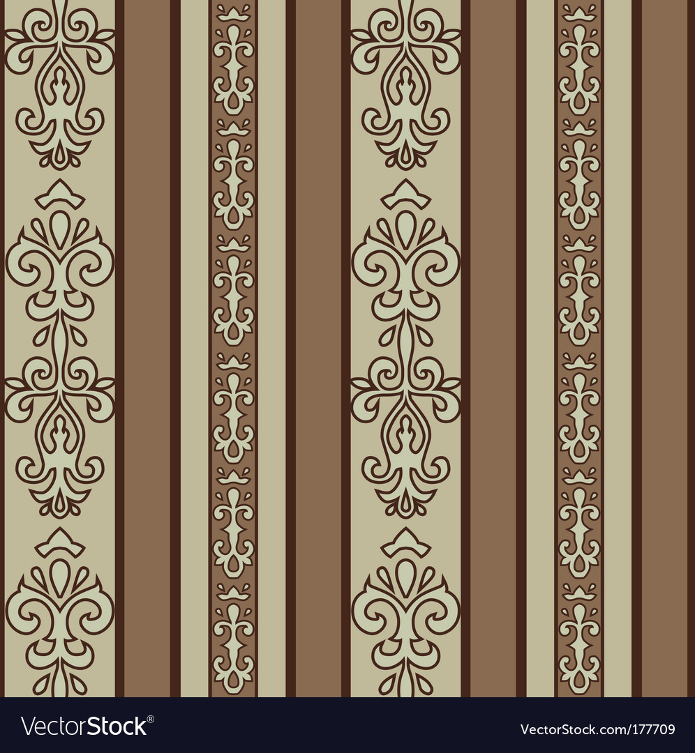 Stripe pattern vector image