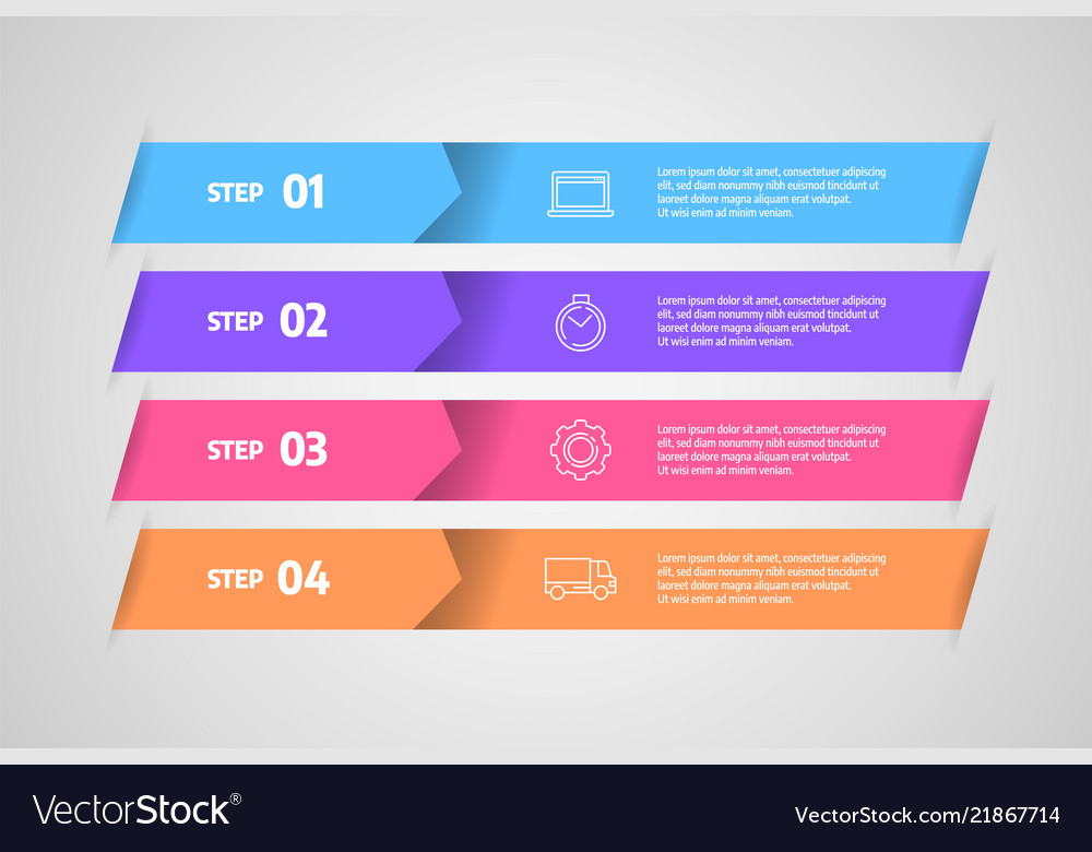 Infographics design business concept