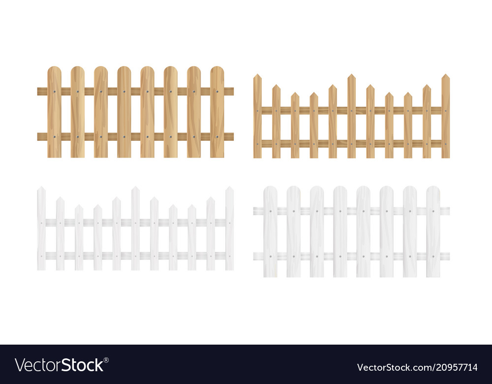 Set of the different wood