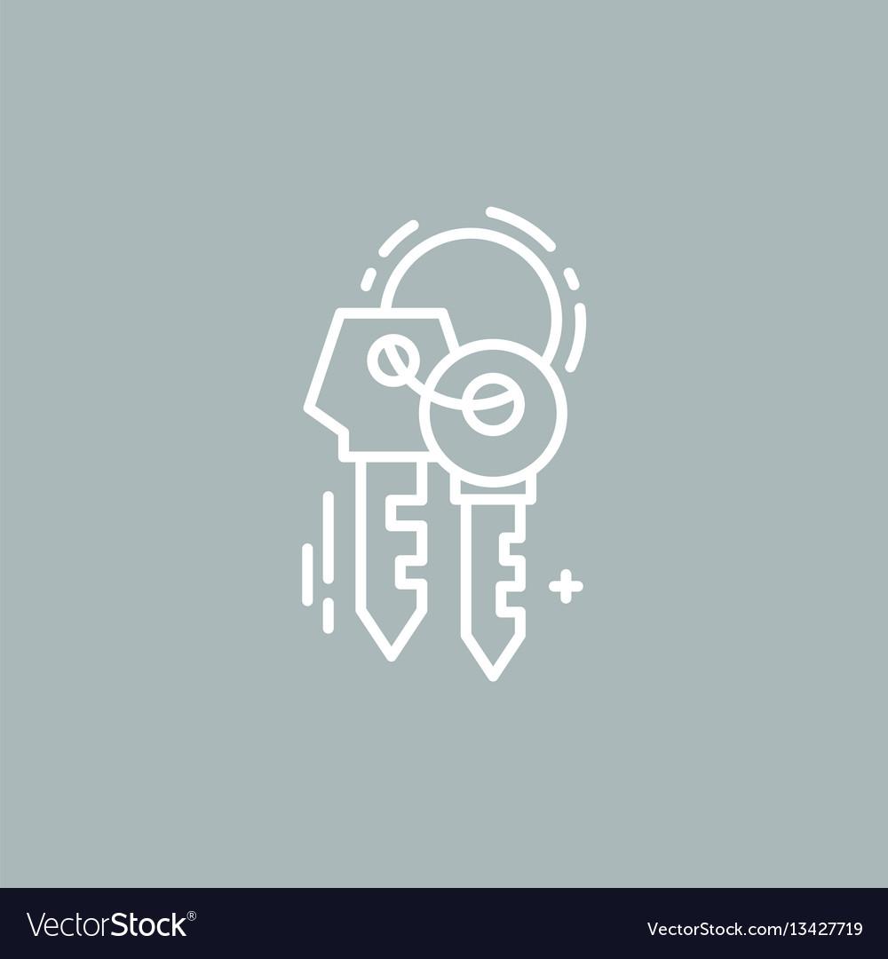 Line keys logo