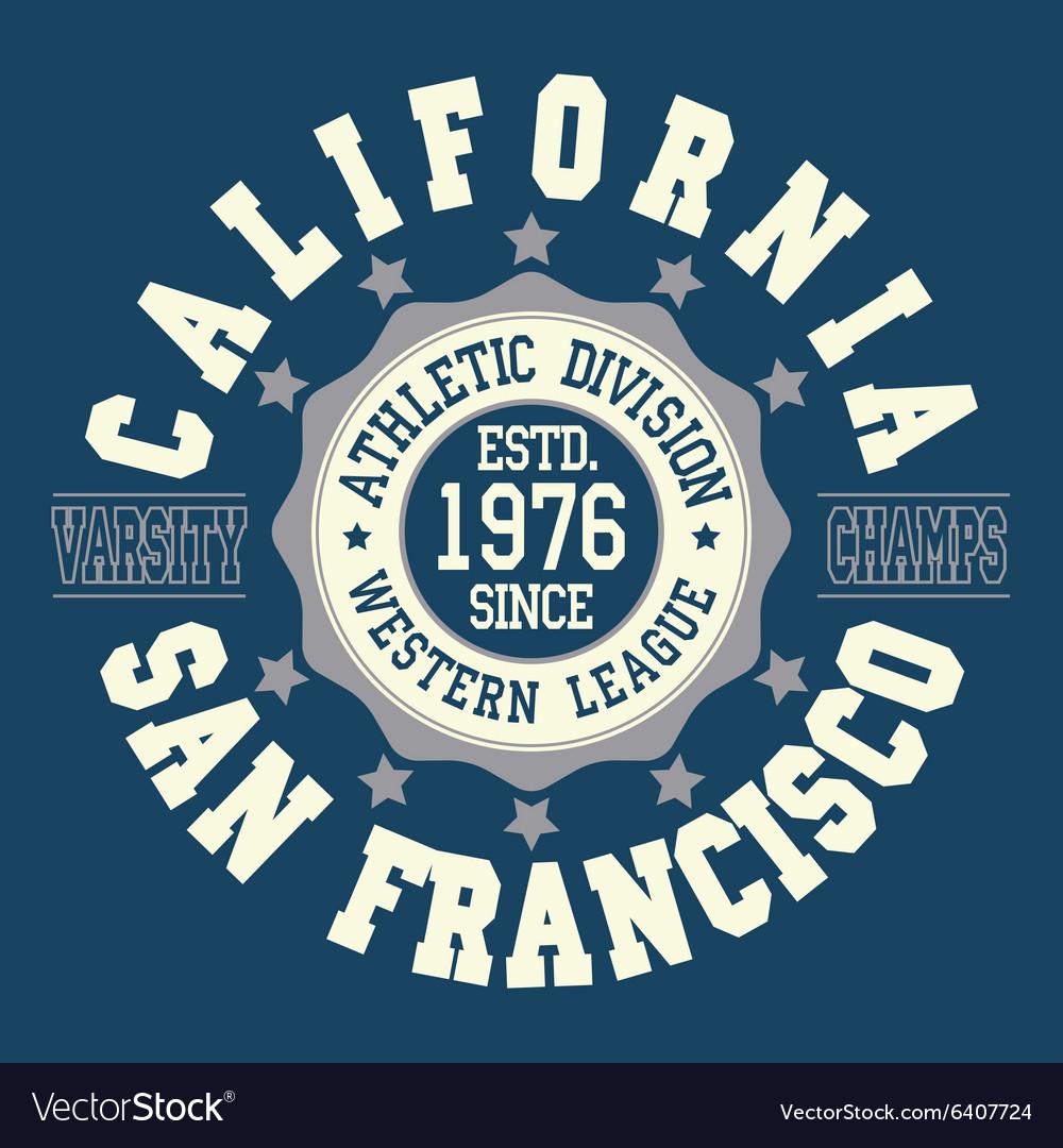 California T-shirt fashion