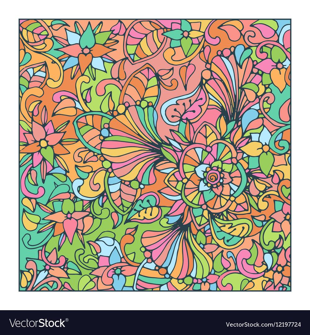 Colorful Mosaic Tile Design Royalty