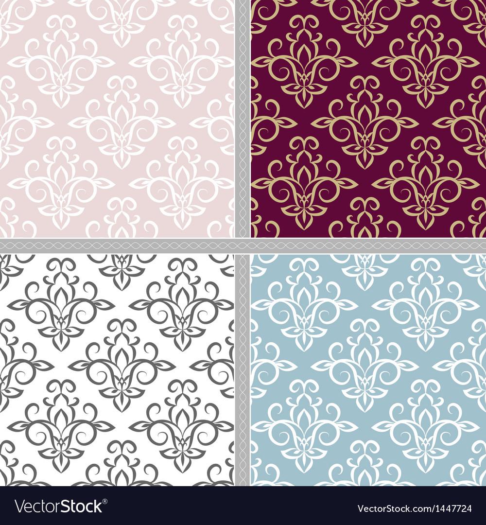 Summer ethnic seamless pattern