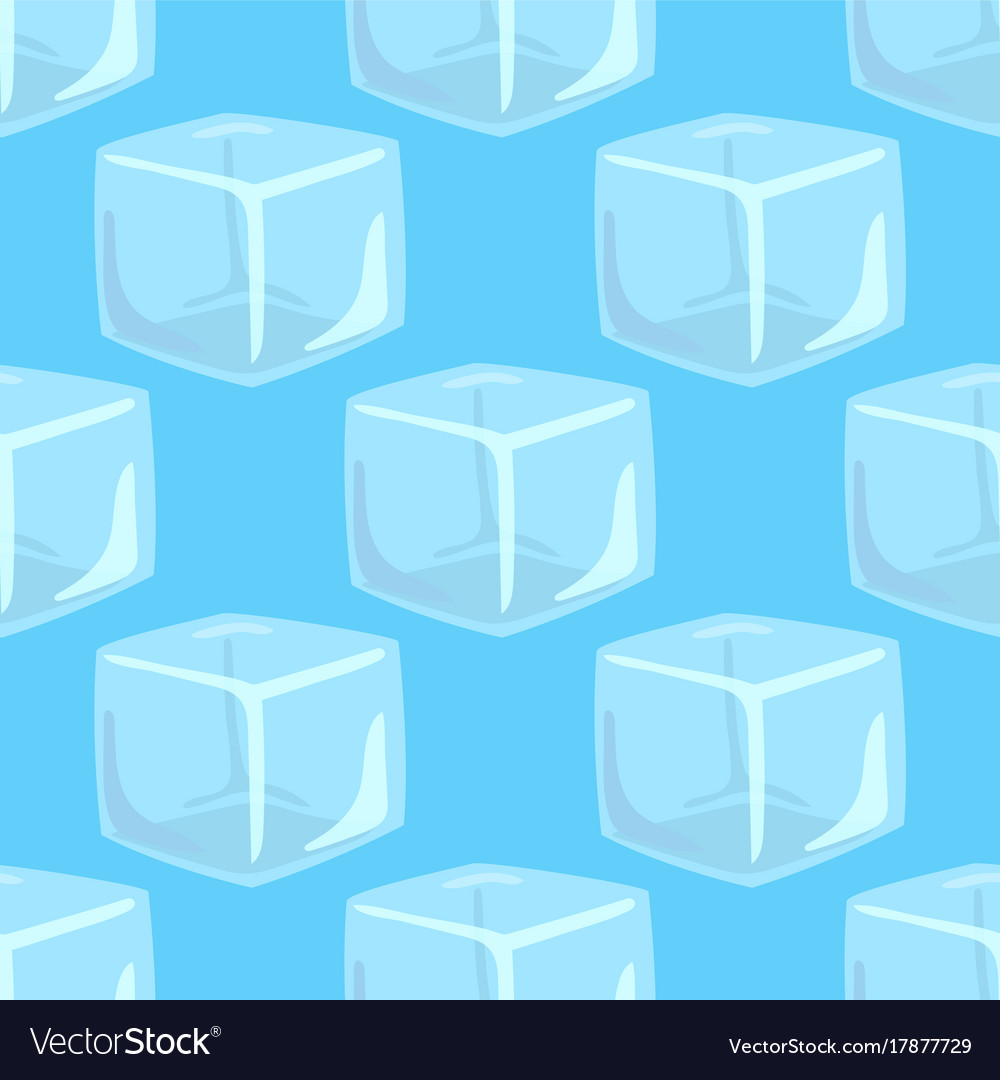 Ice caps snowdrifts icicles seamless pattern