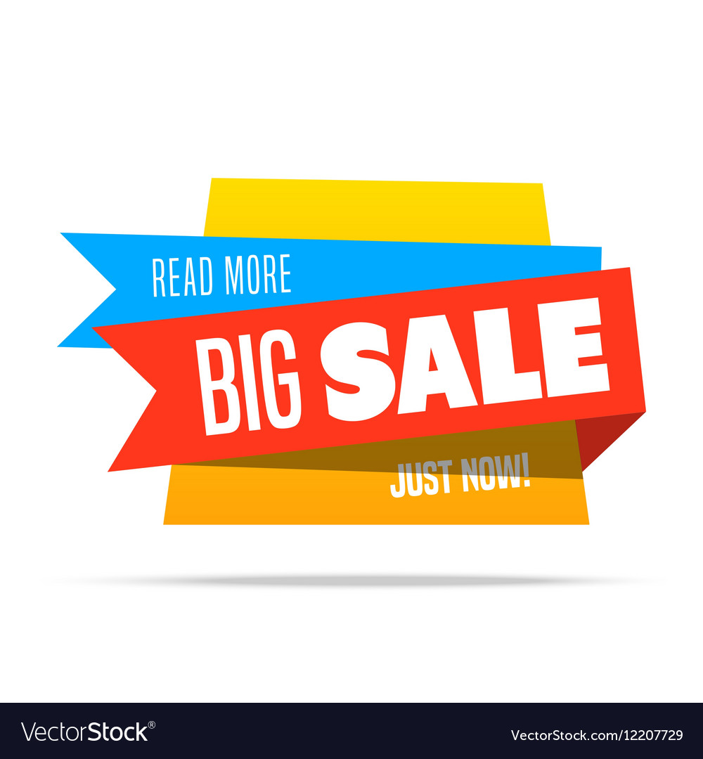 Super Sale shining banner on colorful background