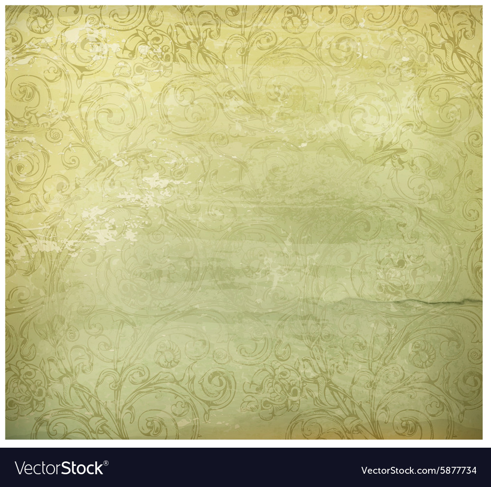 Old style background vector image