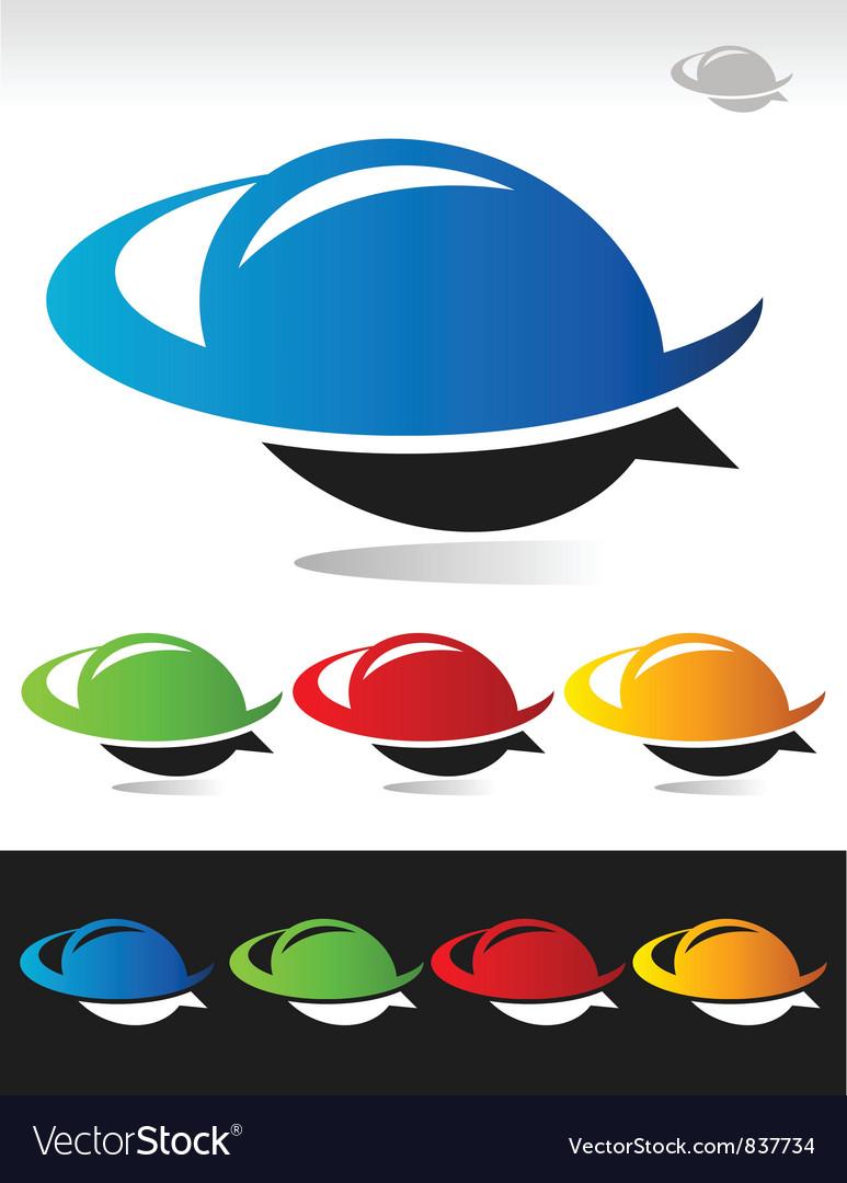 Swoosh Bubble Logo Icon