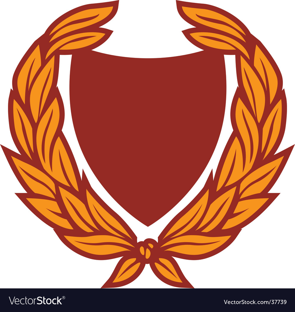 crest royalty free vector image vectorstock rh vectorstock com crest vector free download crest vector and meaning