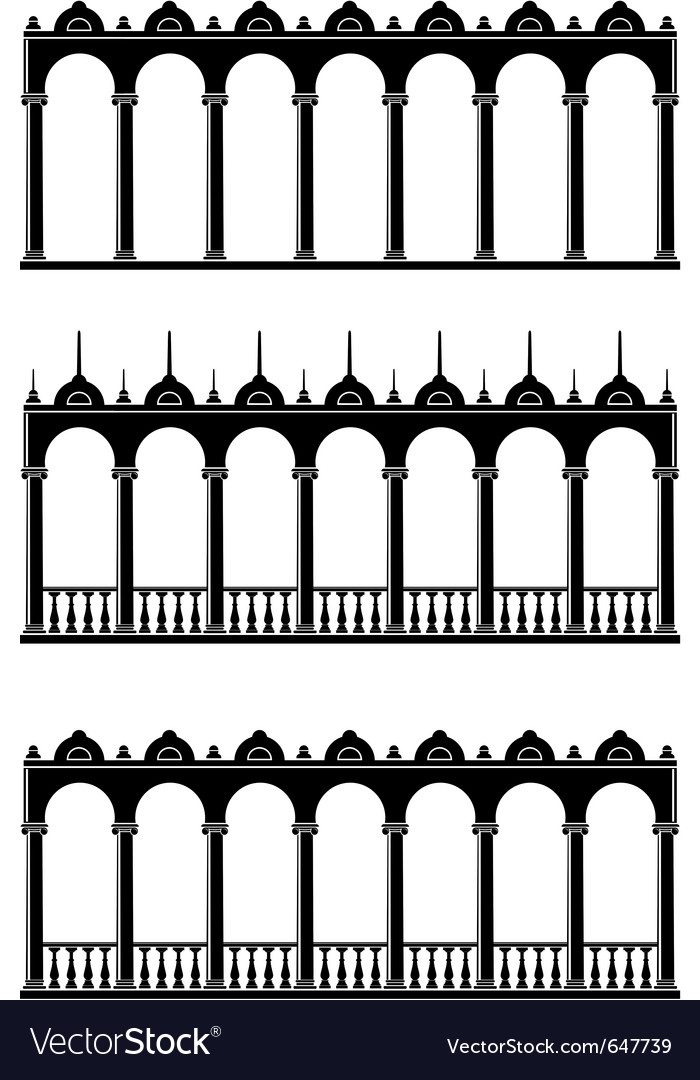 Silhouettes of gallery