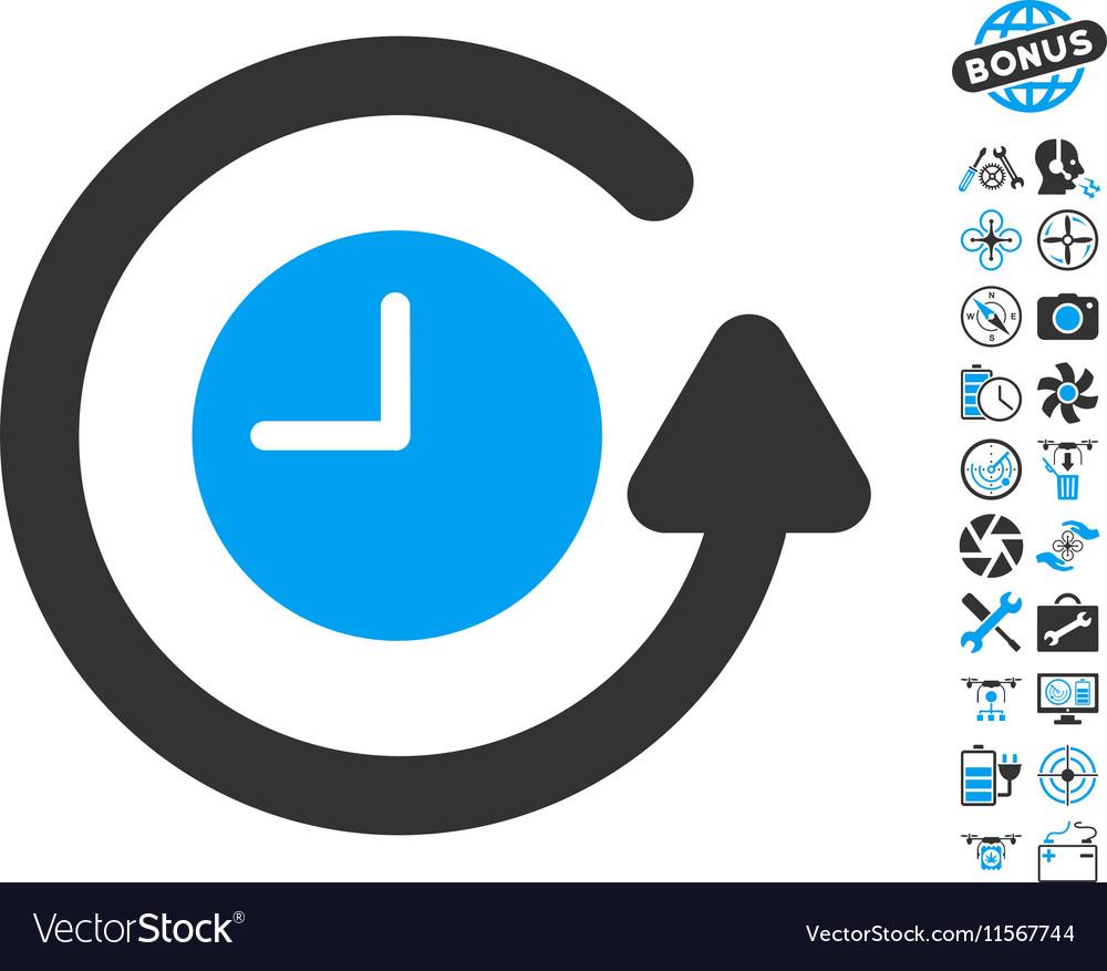 Restore Clock Icon With Copter Tools Bonus