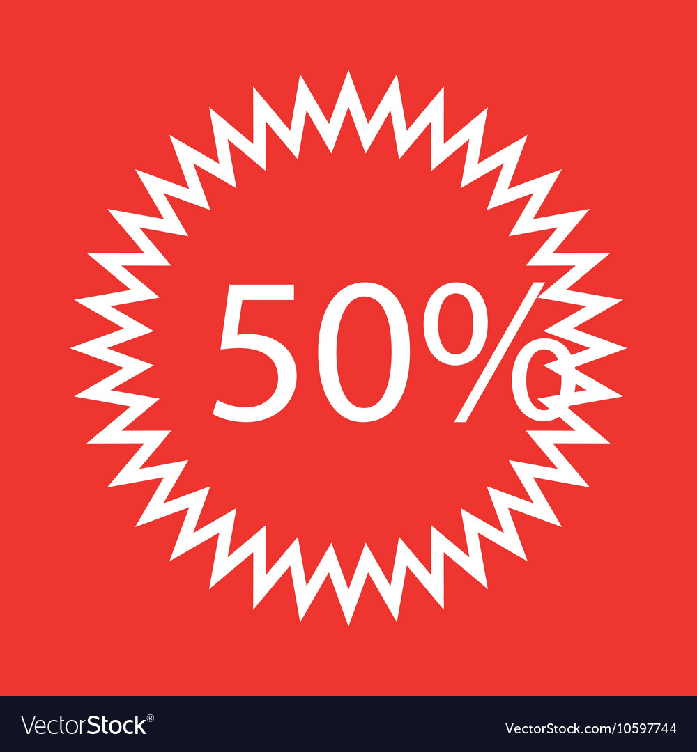 Seal offer percent icon