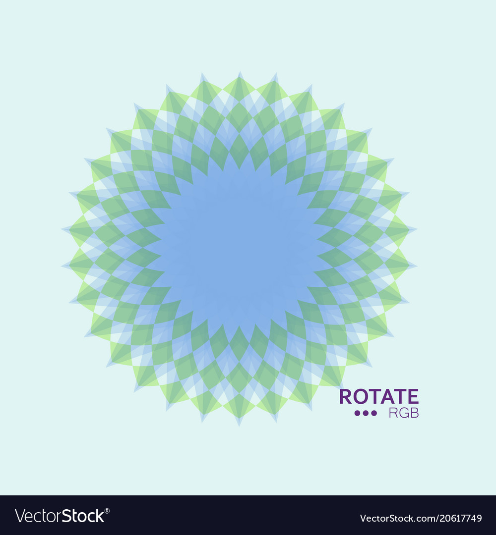 Abstract mandala symbol