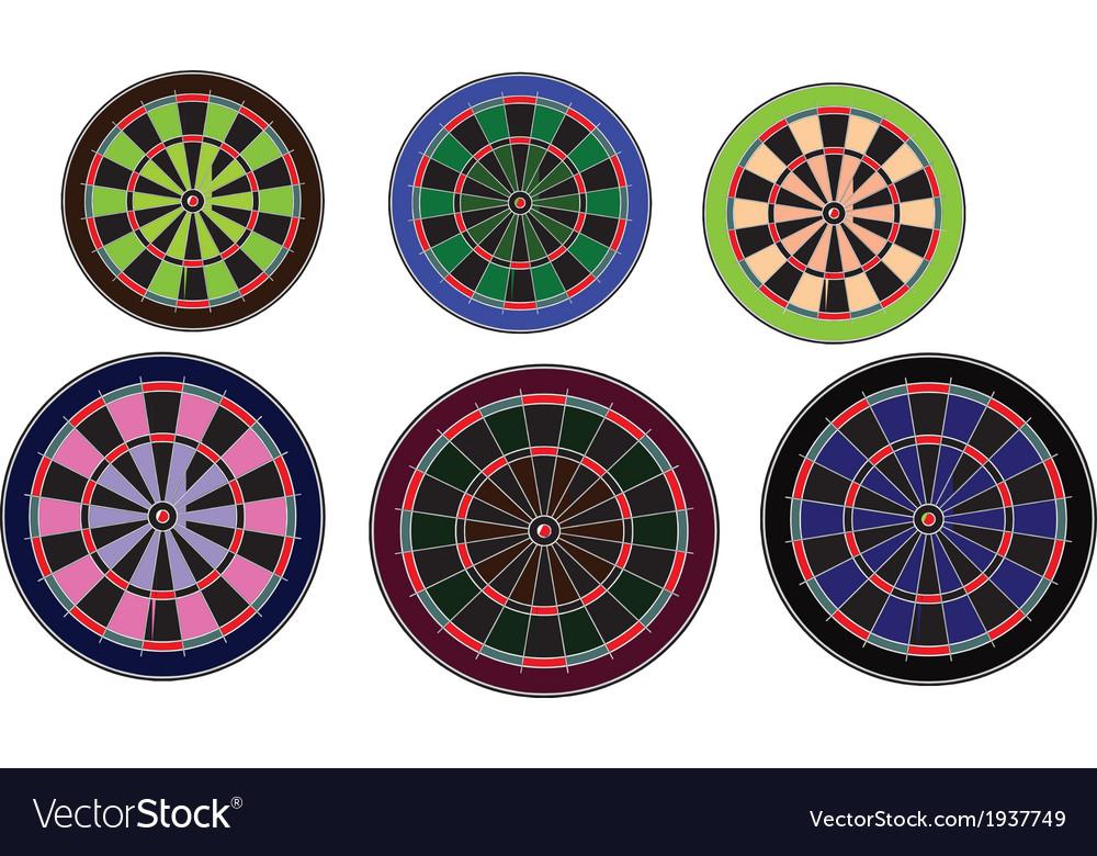 Dartboards set