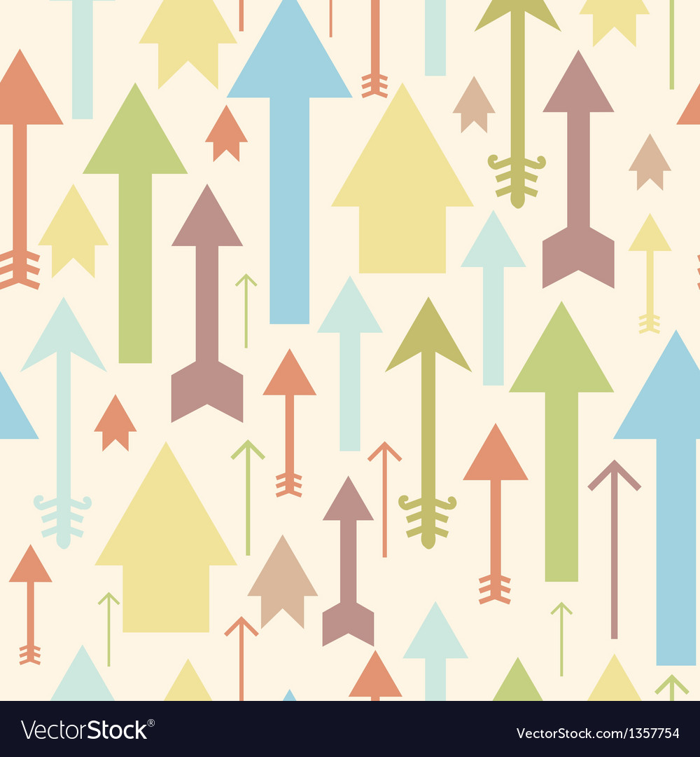 Arrows pointing up seamless pattern background