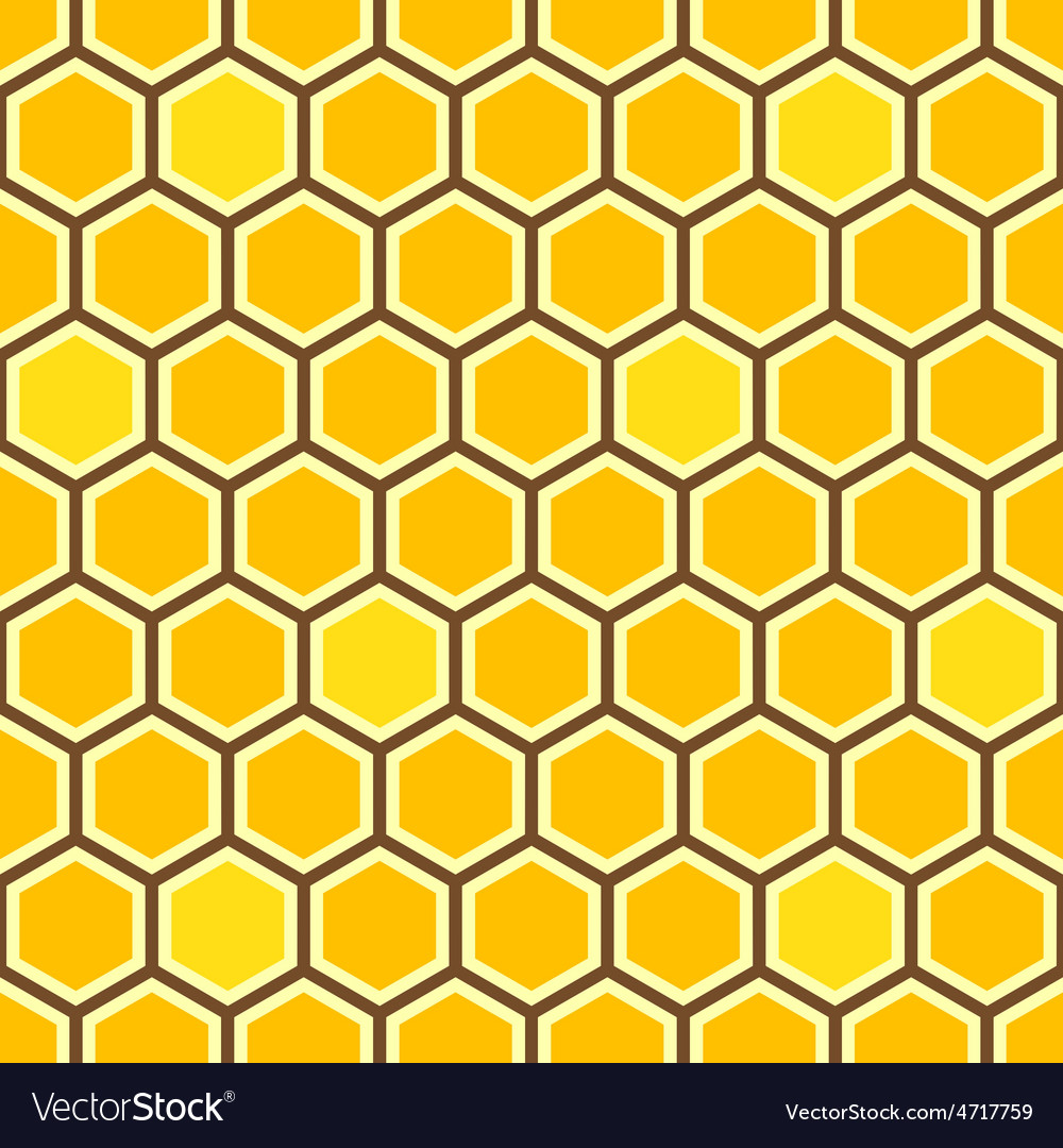 Honey Comb Color Pattern