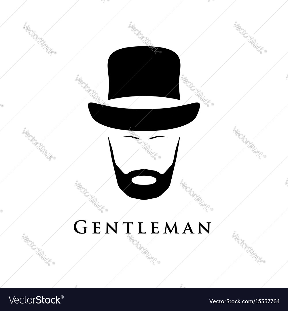 Gentleman with beard and in hat