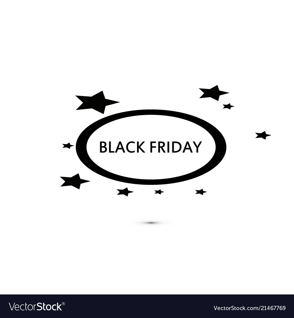 Black friday sale sign icon special offer symbol