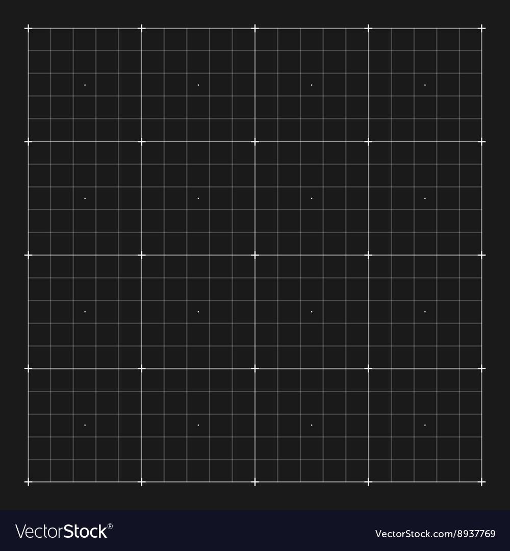 Grid marking for user HUD interface