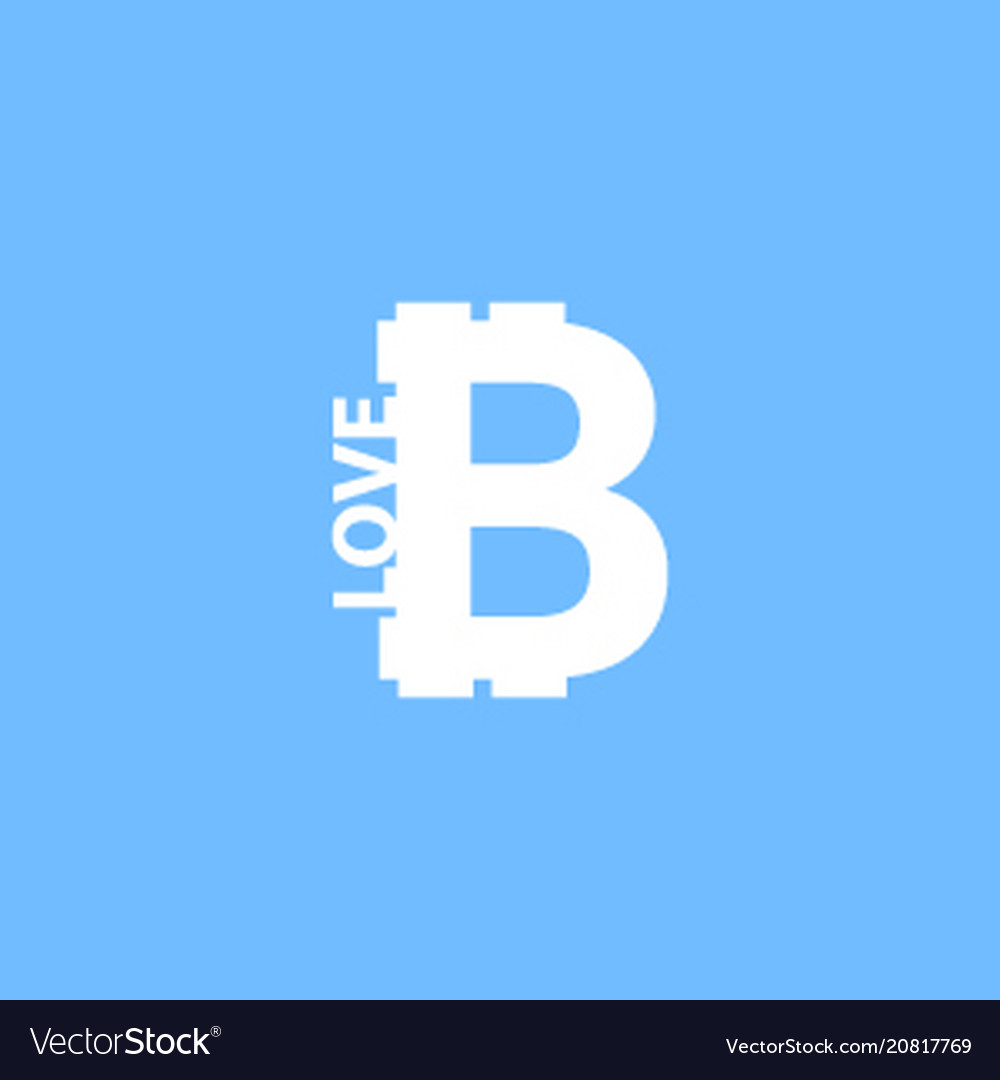 I love bitcoin icon