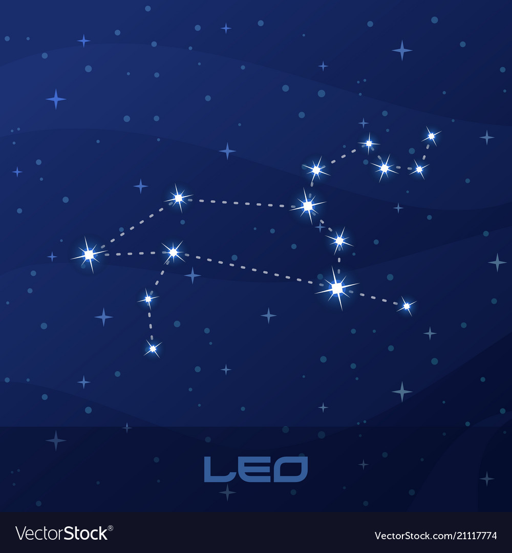 Constellation leo astrological sign