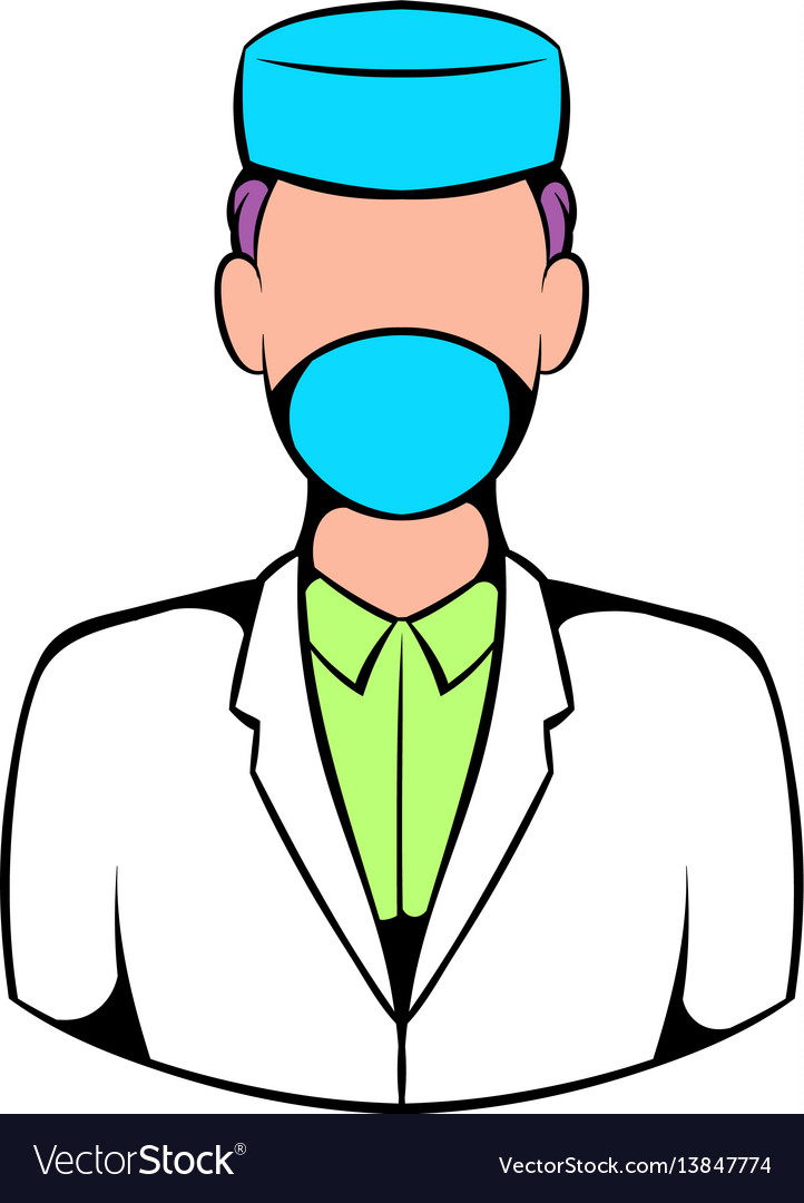 Doctor icon icon cartoon