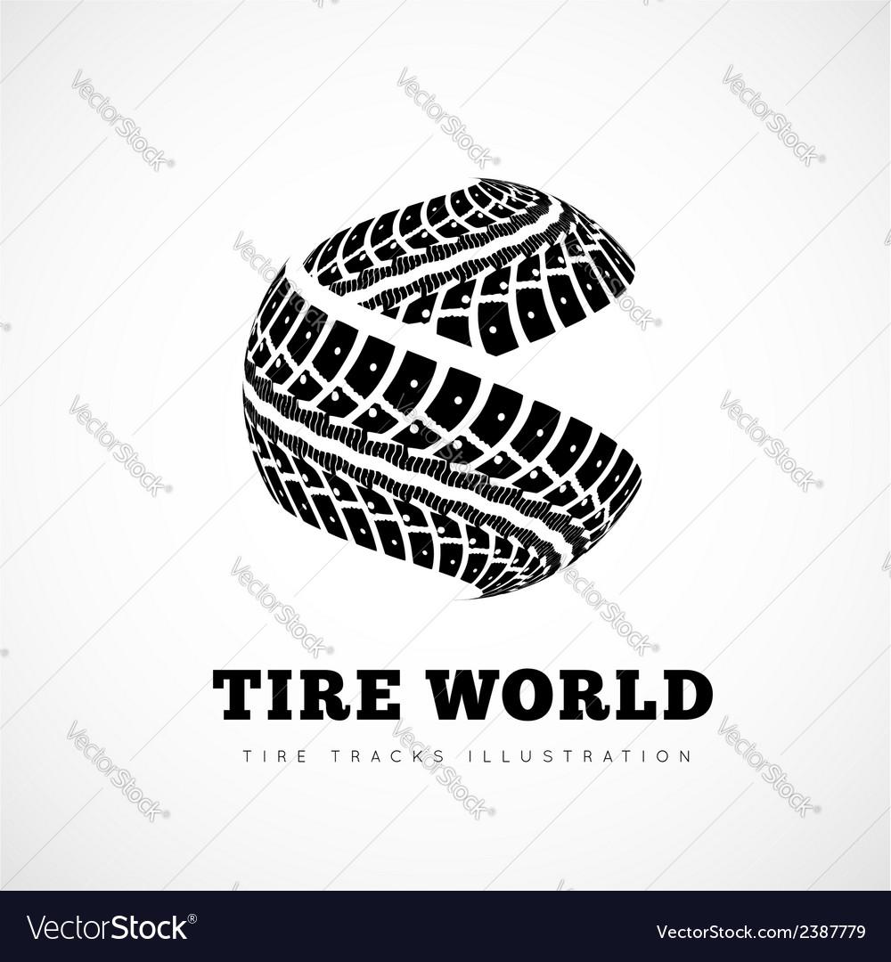 Tire Track brand