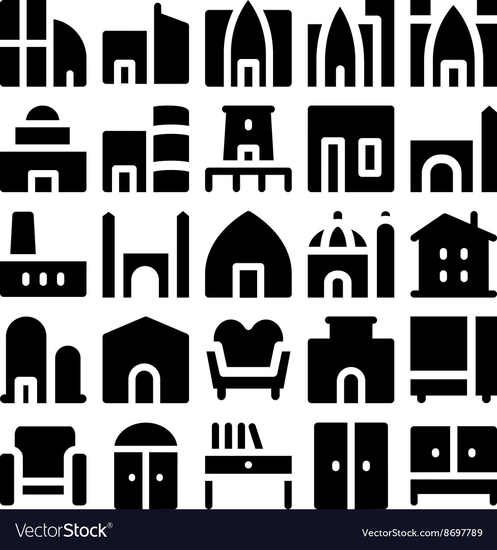 Building and Furniture Icons 5