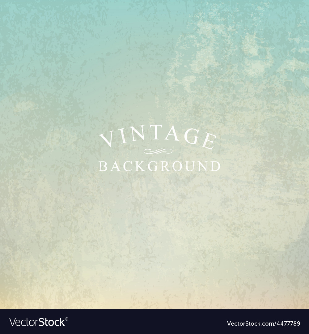 Vintage background with text template