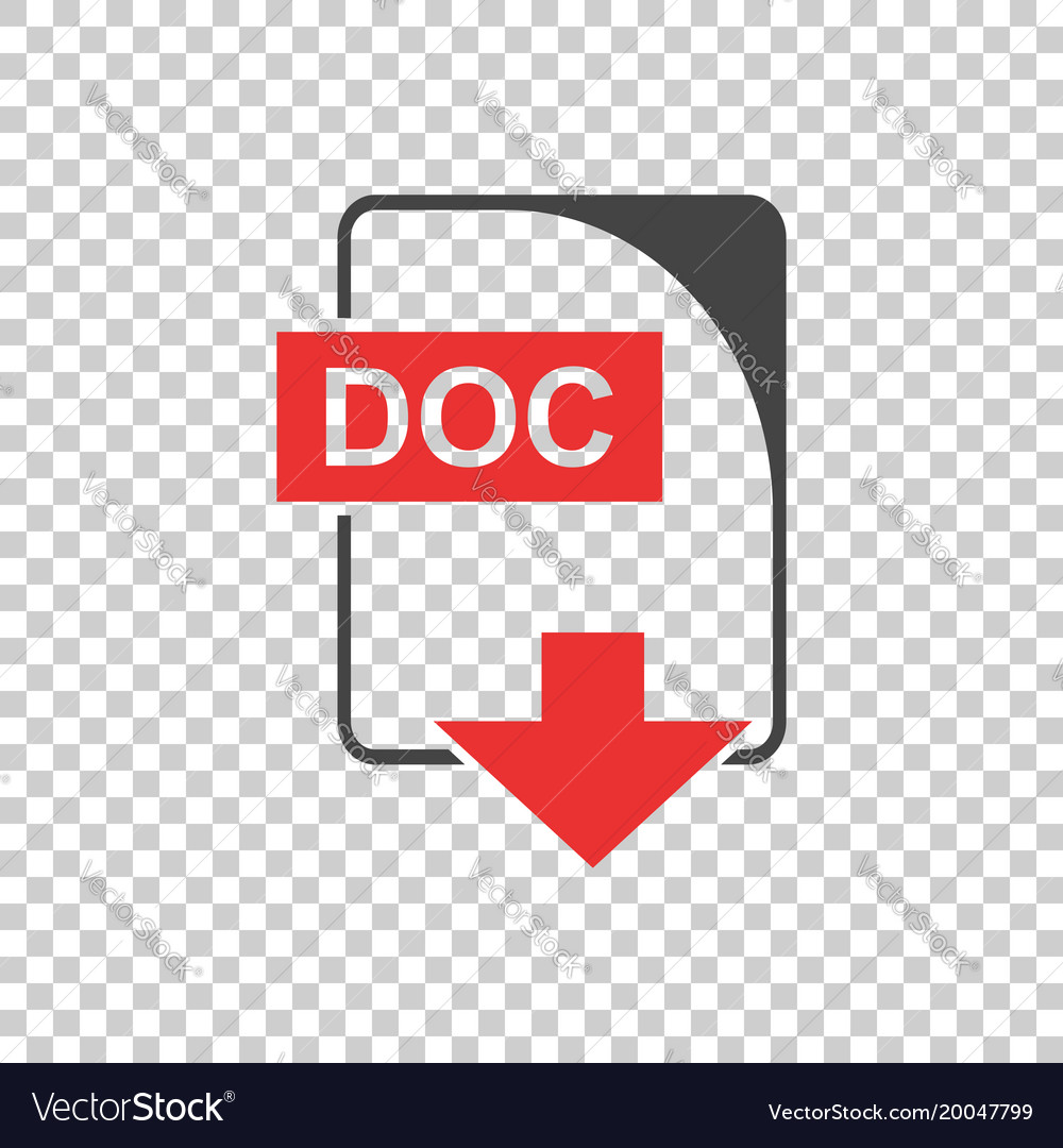 Doc icon flat