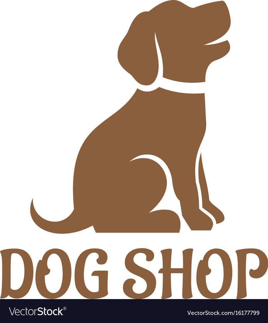 Dog shop logo