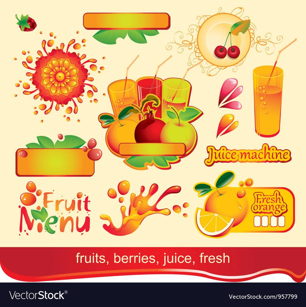 Juices fruit