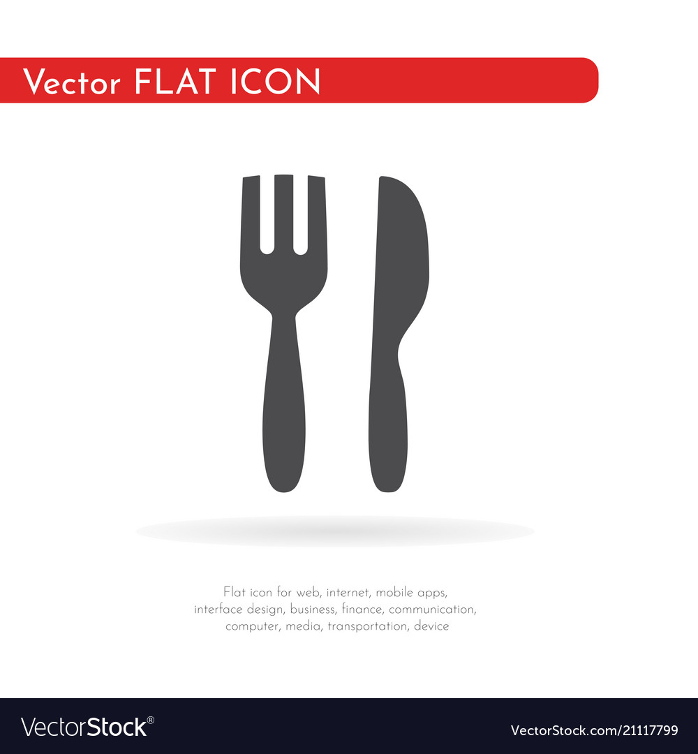 Restaurant icon for web business finance and