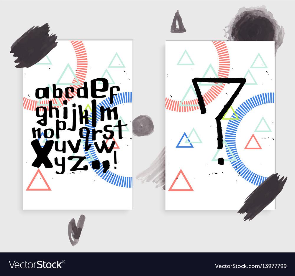 Unique latin alphabet