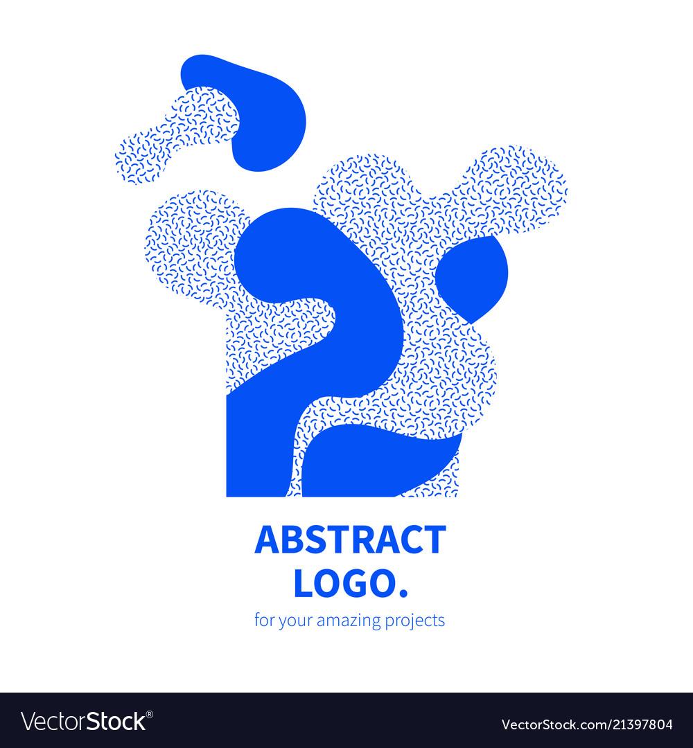 Abstract design decorative logo