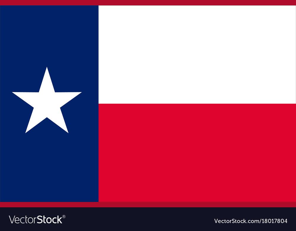 Flag texas usa