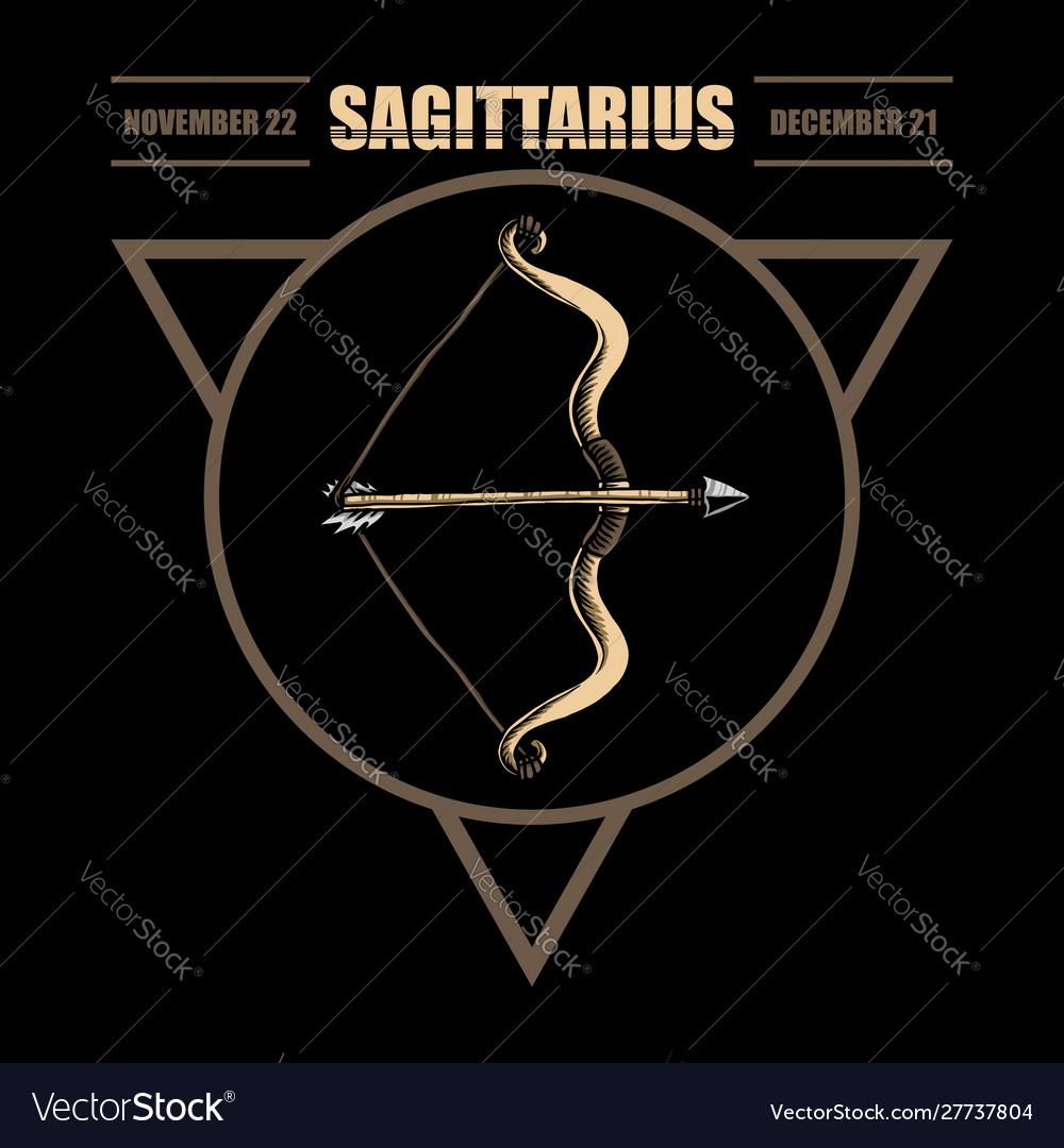 Sagittarius zodiacsagittarius zodiac illust