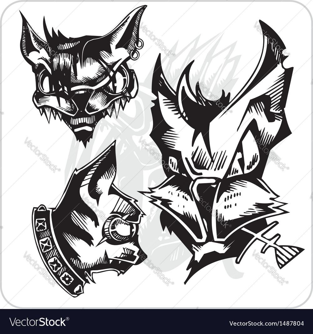 Set - Aggressive Cats