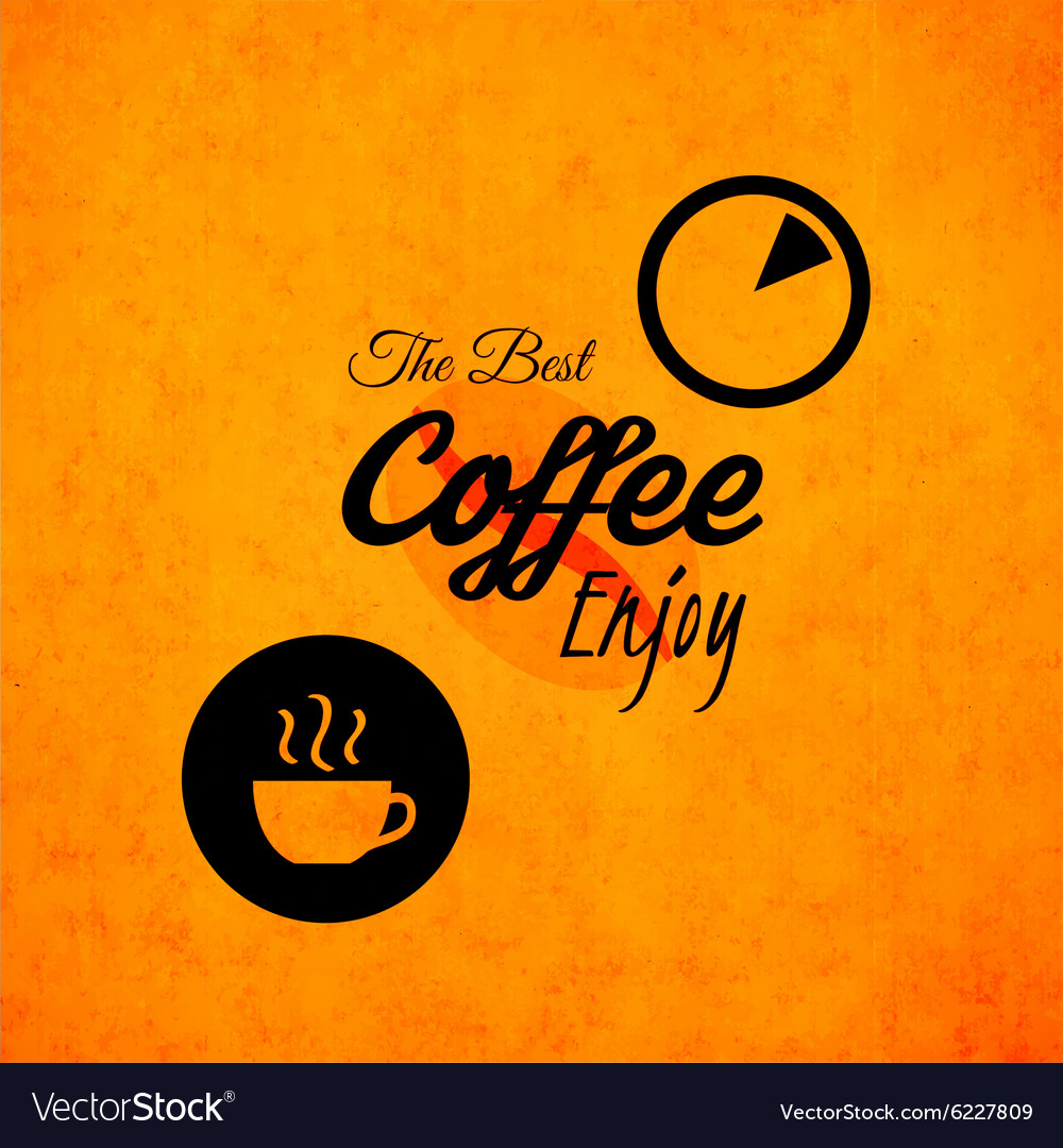 Menu for restaurant best coffee enjoy use