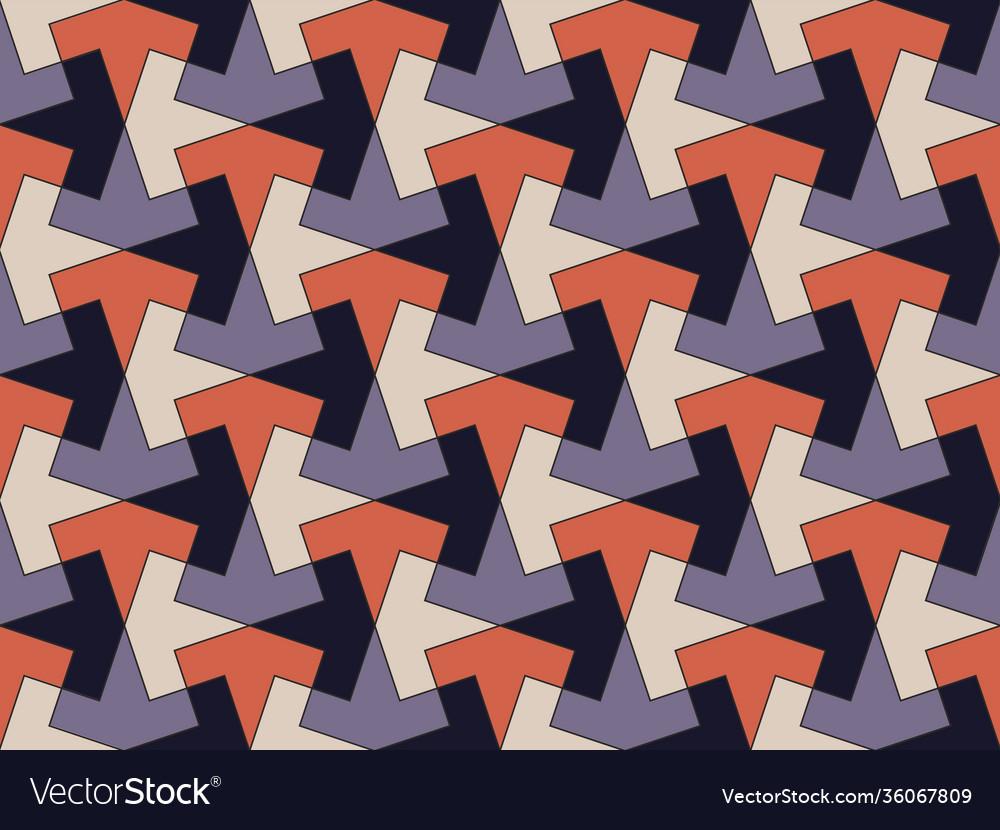 Modern seamless pattern in style