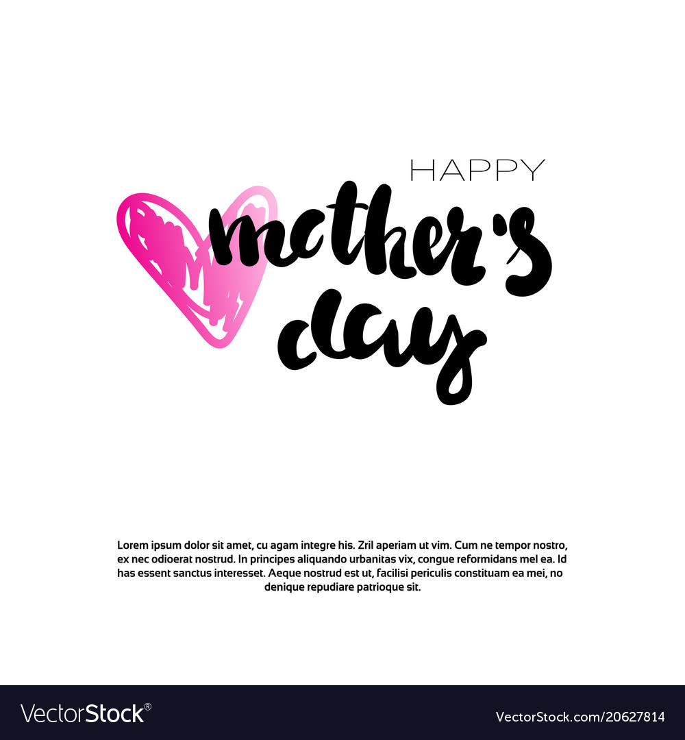 Mothers day holiday background with copy space