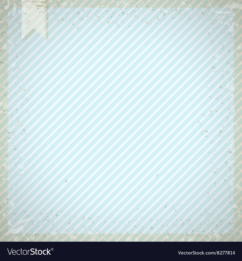 Vintage background with blue diagonal stripes
