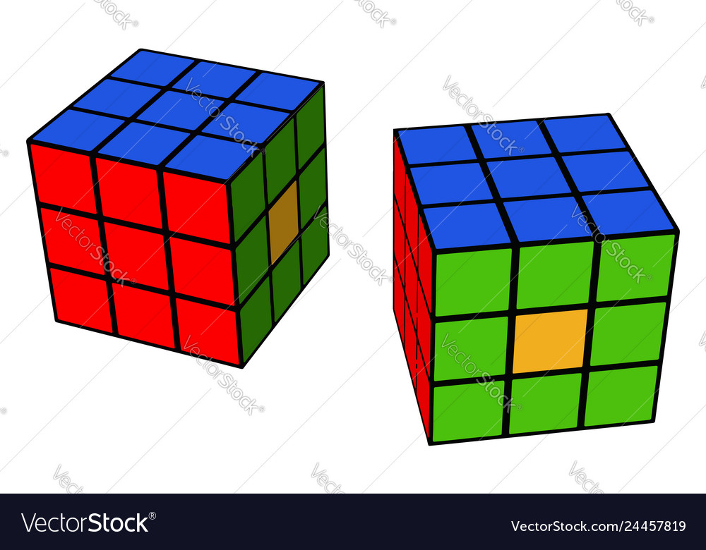 buy stable quality best selling A colorful 3-d cube or color