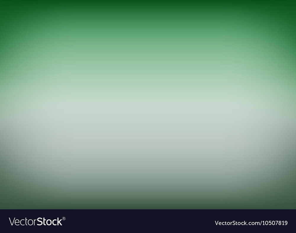 Emerald Green Gradient Background Vector Image