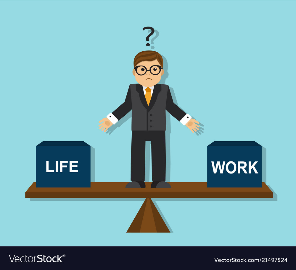 Businessman has to make a choice